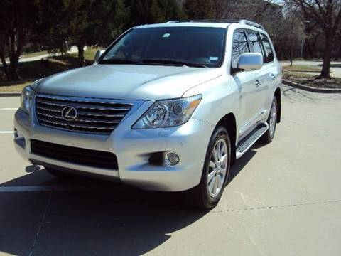 2011 Lexus LX 570 for sale at ACH AutoHaus in Dallas TX