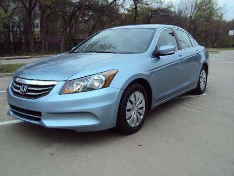 2012 Honda Accord for sale at ACH AutoHaus in Dallas TX