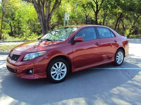 2010 Toyota Corolla for sale in Dallas, TX