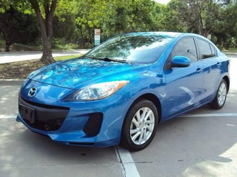2012 Mazda MAZDA3 for sale at ACH AutoHaus in Dallas TX