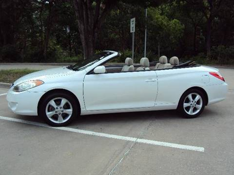 2004 Toyota Camry Solara for sale at ACH AutoHaus in Dallas TX