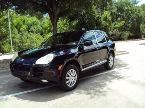 2005 Porsche Cayenne for sale at ACH AutoHaus in Dallas TX