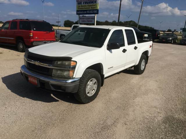 2005 Chevrolet Colorado for sale at Hunkle Auto in Van Alstyne TX