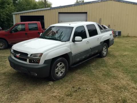 2002 Chevrolet Avalanche for sale at Hunkle Auto in Van Alstyne TX