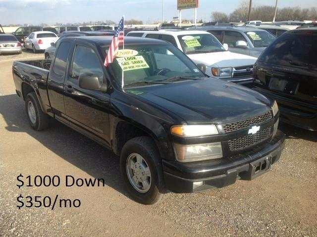 2004 Chevrolet Colorado for sale at Hunkle Auto in Van Alstyne TX