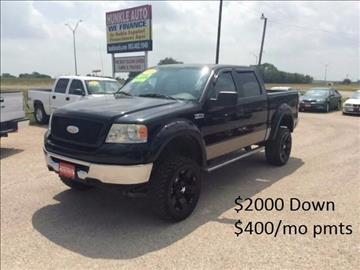 2006 Ford F-150 for sale at Hunkle Auto in Van Alstyne TX
