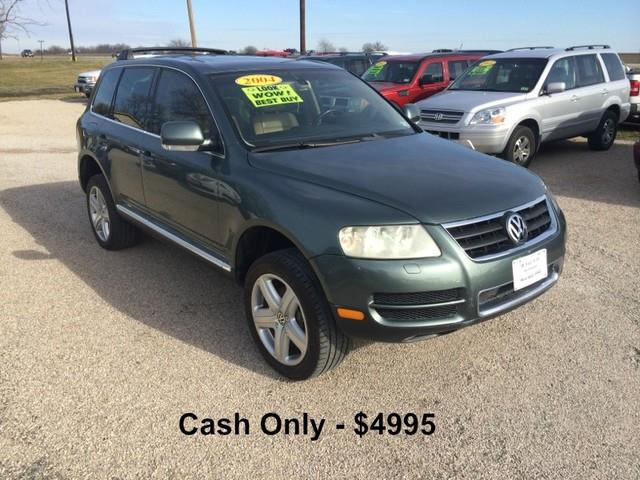 2004 volkswagen touareg v8 in van alstyne tx hunkle auto. Black Bedroom Furniture Sets. Home Design Ideas