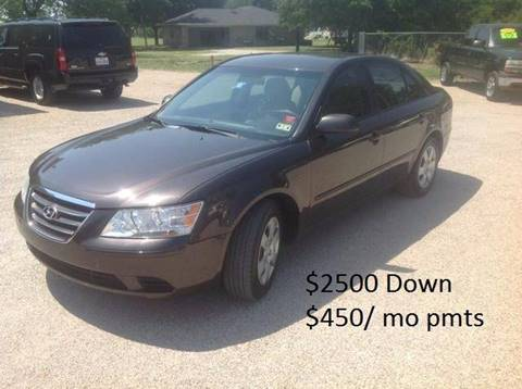 2009 Hyundai Sonata for sale at Hunkle Auto in Van Alstyne TX