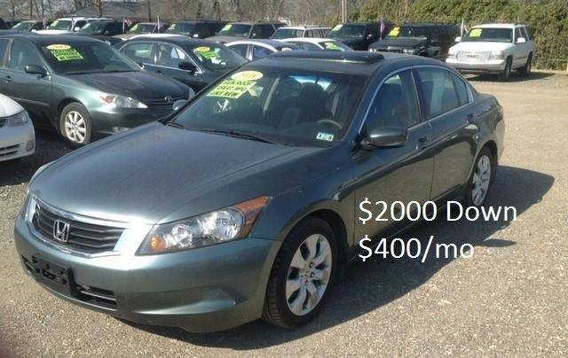 2008 Honda Accord for sale at Hunkle Auto in Van Alstyne TX