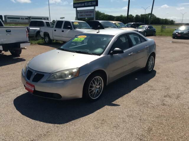 2008 Pontiac G6 for sale at Hunkle Auto in Van Alstyne TX