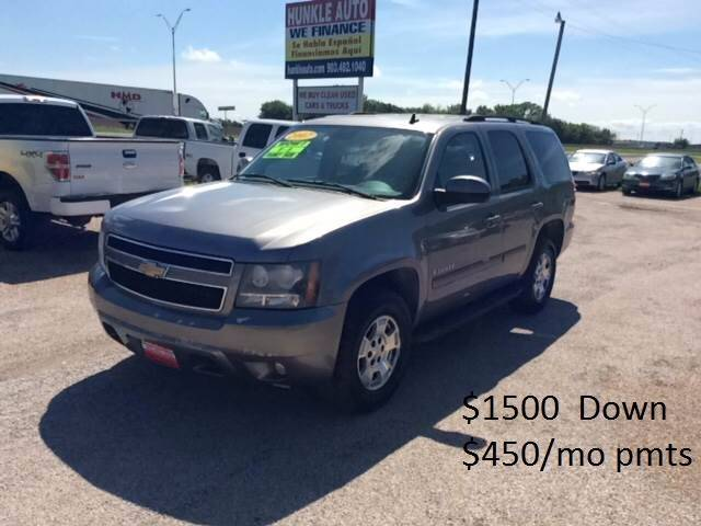 2007 Chevrolet Tahoe for sale at Hunkle Auto in Van Alstyne TX