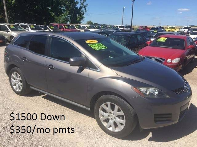 2008 Mazda CX-7 for sale at Hunkle Auto in Van Alstyne TX