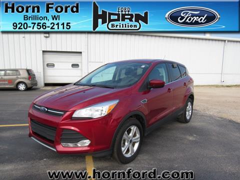 2015 Ford Escape for sale in Brillion WI