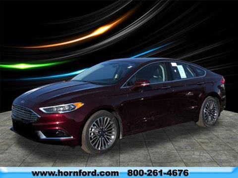 2018 Ford Fusion for sale in Brillion, WI