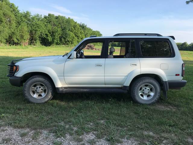 1996 Toyota Land Cruiser For Sale At Gilkey Motors In Kansas City MO