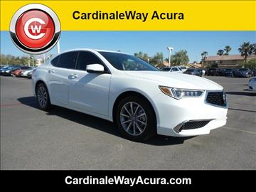 2018 Acura TLX for sale in Las Vegas, NV