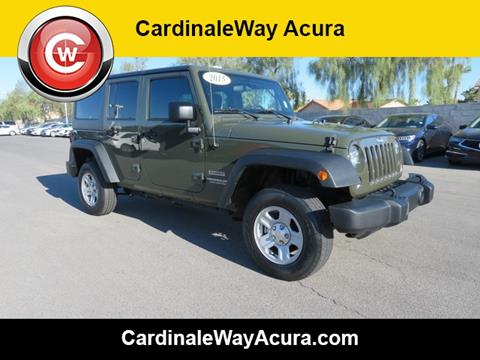 2015 Jeep Wrangler Unlimited for sale in Las Vegas, NV