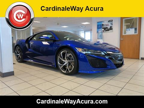 2017 Acura NSX for sale in Las Vegas, NV