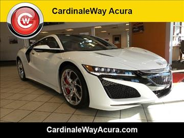 2017 Acura NSX for sale in Las Vegas, NV