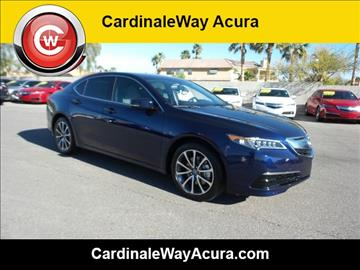 2017 Acura TLX for sale in Las Vegas, NV