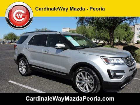 2016 Ford Explorer for sale in Peoria, AZ