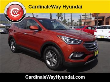 2017 Hyundai Santa Fe Sport for sale in Corona, CA
