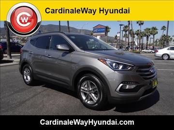 2018 Hyundai Santa Fe Sport for sale in Corona, CA