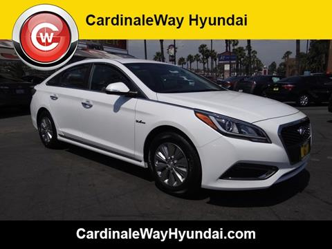 2017 Hyundai Sonata Hybrid for sale in Corona, CA
