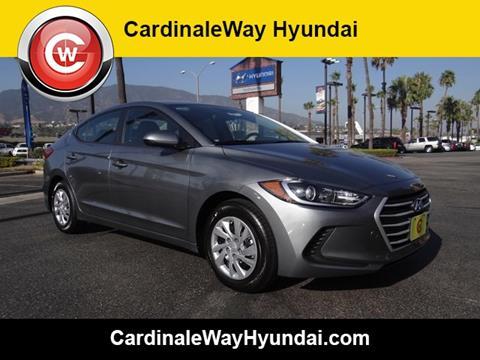 2018 Hyundai Elantra for sale in Corona, CA
