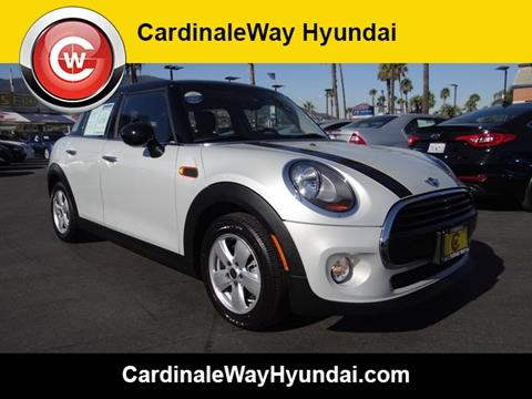 2016 MINI Hardtop 4 Door for sale in Corona, CA