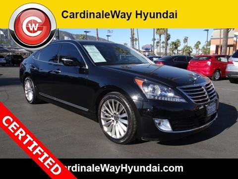 2014 Hyundai Equus for sale in Corona, CA