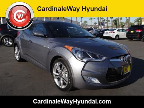 2017 Hyundai Veloster for sale in Corona, CA