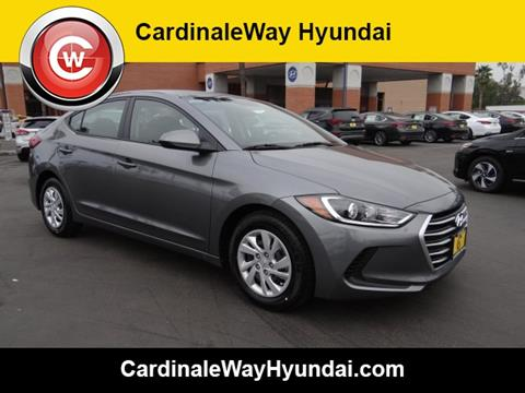 2018 Hyundai Elantra for sale in Corona, CA