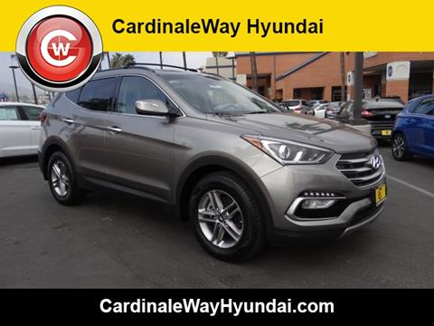2018 Hyundai Santa Fe Sport for sale in Corona, CA