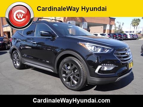 2017 Hyundai Santa Fe Sport for sale in Corona, CA