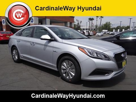 2017 Hyundai Sonata Hybrid for sale in Corona, CA