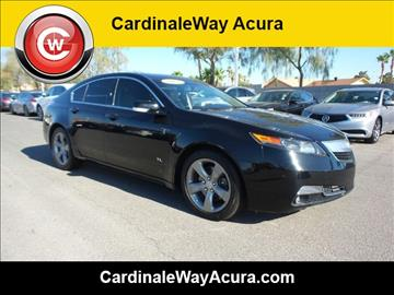 2012 Acura TL for sale in Las Vegas, NV