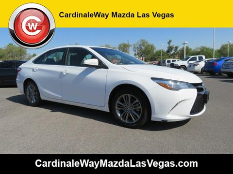 2016 Toyota Camry for sale in Las Vegas, NV