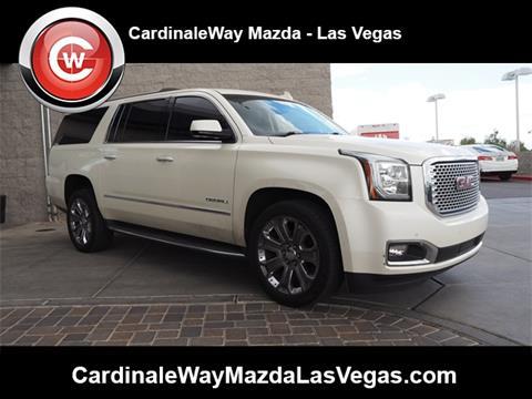2015 GMC Yukon XL for sale in Las Vegas, NV