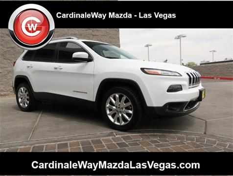 2016 Jeep Cherokee for sale in Las Vegas, NV