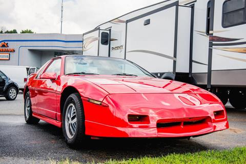 1986 Pontiac Fiero for sale in Hickory, NC