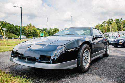 1987 Pontiac Fiero for sale in Hickory, NC