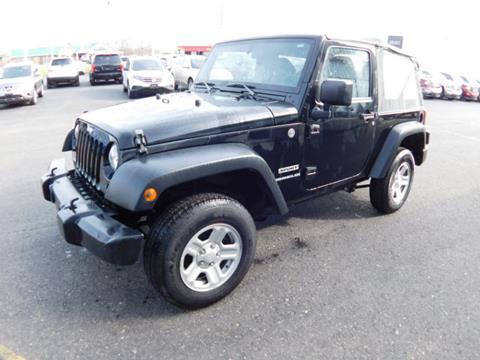 2014 Jeep Wrangler for sale in Olean, NY