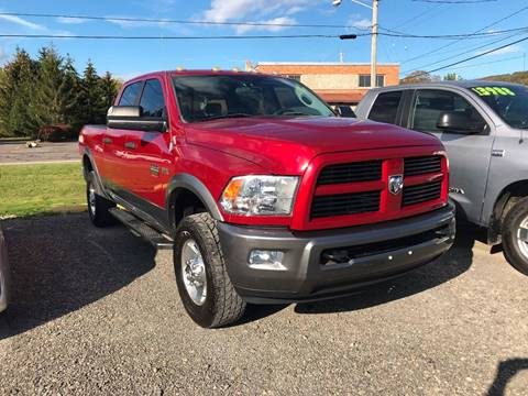 2010 Dodge Ram Pickup 2500 for sale at SMS Motorsports LLC in Cortland NY