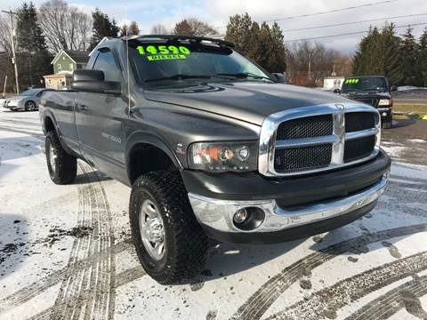 2003 Dodge Ram Pickup 2500 for sale at SMS Motorsports LLC in Cortland NY