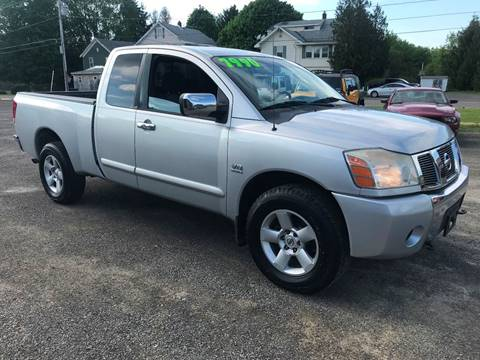 2004 Nissan Titan for sale at SMS Motorsports LLC in Cortland NY