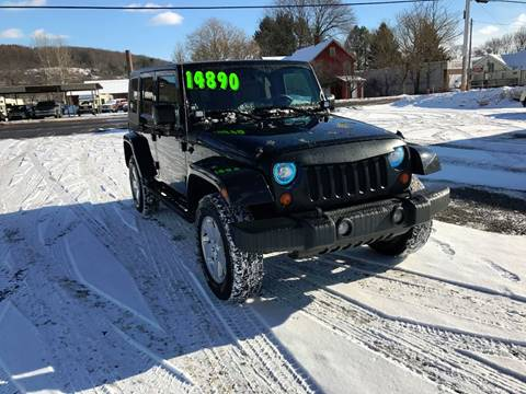 2008 Jeep Wrangler Unlimited for sale at SMS Motorsports LLC in Cortland NY