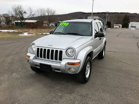 2002 Jeep Liberty for sale at SMS Motorsports LLC in Cortland NY