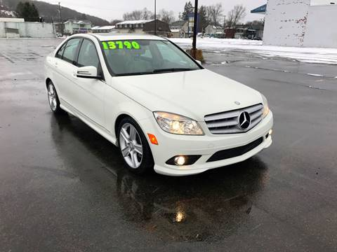 2010 Mercedes-Benz C-Class for sale at SMS Motorsports LLC in Cortland NY