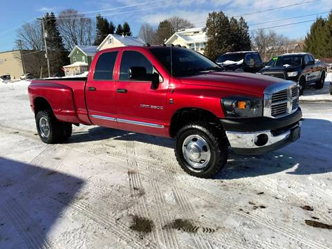2006 Dodge Ram Pickup 3500 for sale at SMS Motorsports LLC in Cortland NY